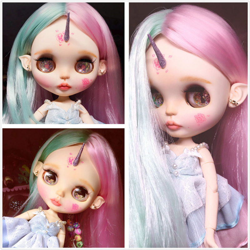 Toys & Hobbies 151 Doll Limited Gift Special Price Cheap Offer Toy Up-To-Date Styling Free Shipping Top Discount 4 Colors Big Eyes Diy Nude Blyth Doll Item No