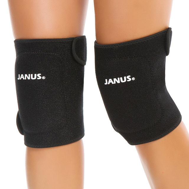 a4d8c7871a Adjustable Thicken Knee Pads Dancing Yoga Volleyball Knee Brace Support  Sports Knee Pressurized Straps Bandage Patella Protector