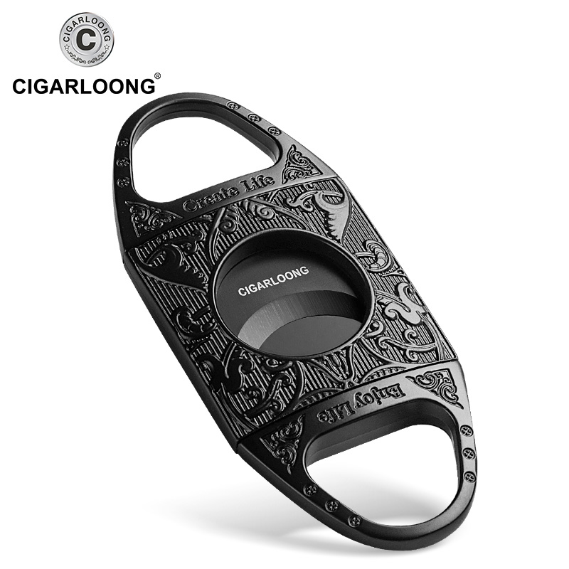 stainless steel cigar cutter gift cigar knife scissor High quality cigar accessory OEM Factory directly CL J20 in Cigar Accessories from Home Garden