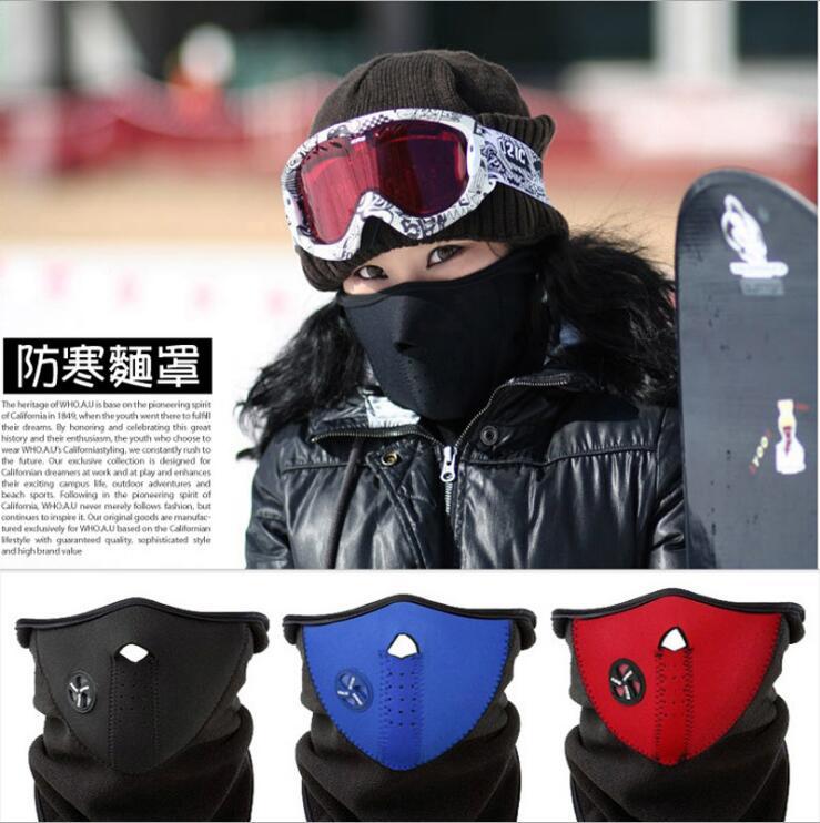 Skateboard Neck Warm Half Face  Winter Sport Mask Windproof Mask Ski Skateboarding Parts Outdoor Dust Skateboard Parts