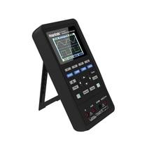 Hantek 3in1 Digitale Oscilloscoop + Golfvorm Generator + Multimeter Draagbare Usb 2 Kanalen 40Mhz 70Mhz Lcd scherm Test meter Gereedschappen