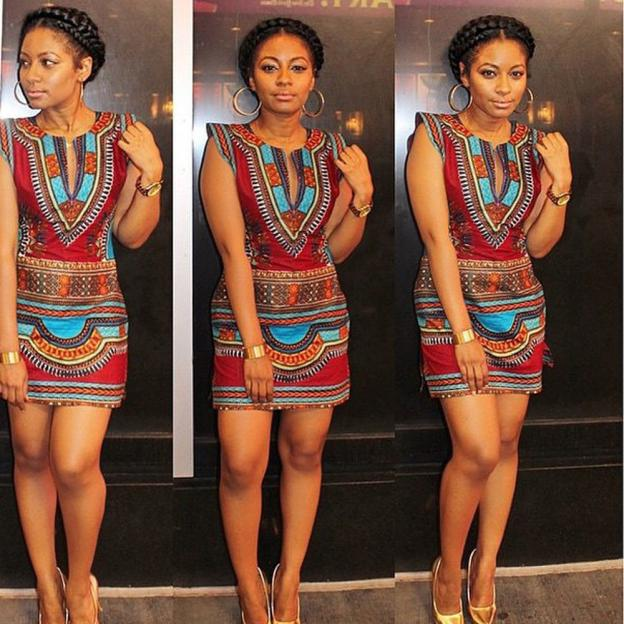 1bf06ce39754 Sexy African dress for Women 2017 Summer Casual Sleeveless ...
