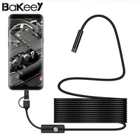 Bakeey 3 In 1 USB Rigid Cable Endoscope Lens For Android Phone For PC PAD 7mm