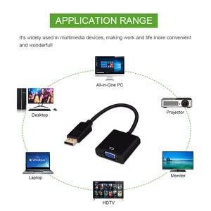 Image 5 - Chipal Displayport Display Port Dp Naar Vga Adapter Kabel Man vrouw Converter Voor Pc Computer Laptop Hdtv Monitor Projector