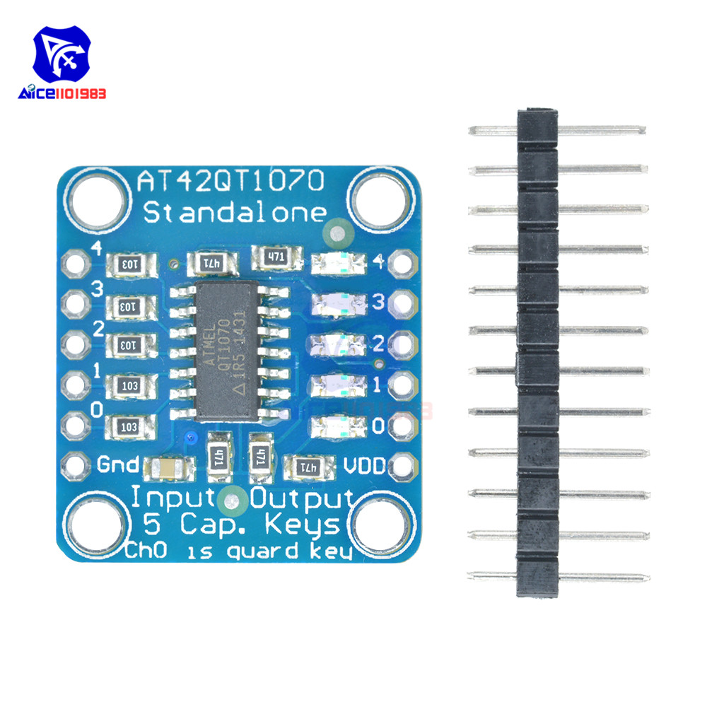 3x MPR121 Breakout Capacitive Touch Sensor Control Board I2C for Arduino Keypad