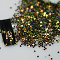 1box 3d Shinny Deep Colors Mixed Glitter Designs Glitter Slice Paillette Fashion DIY Beauty Round Decorations Tools Y05