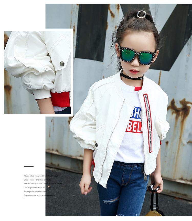 HTB1EwI9hywIL1JjSZFsq6AXFFXah - Weixu Children Spring Autumn Coat for Girls Fashion Kids White Bat Sleeves Oversize Biker Jacket Girls School Wear Bomber Jacket