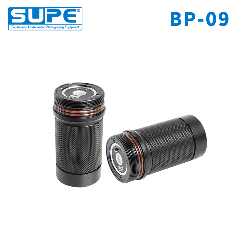 SUPE Scubalamp BP09 Battery Pack for PV32T RD95 underwater photography Video Light Scuba Diving LightSUPE Scubalamp BP09 Battery Pack for PV32T RD95 underwater photography Video Light Scuba Diving Light