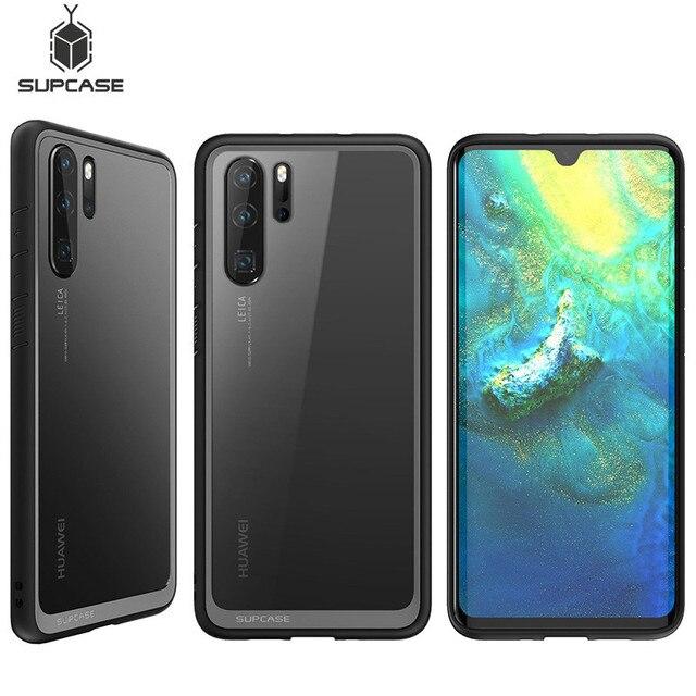 """Funda protectora híbrida para Huawei P30 Pro, 6,47 """"(2019 Release), estilo UB, antigolpes, TPU, PC, transparente"""