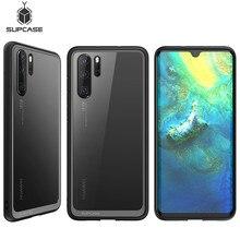 "Huawei P30 Pro 6.47 ""(2019 Sürümü) SUPCASE UB Stil anti vurmak Premium Hibrid Koruyucu TPU tampon + PC Şeffaf Kapak"