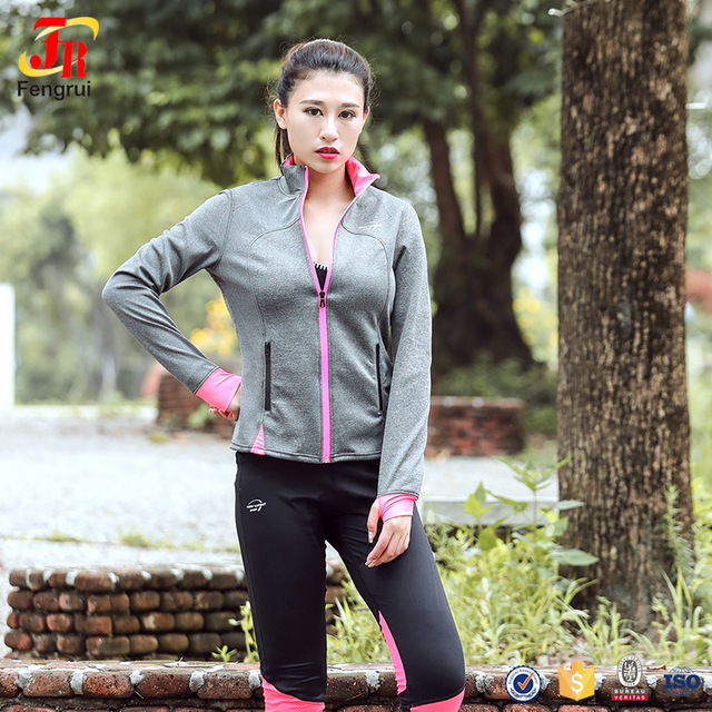 26581993f775 Cody Lundin Women s Road Runner Smooth Transition Jacket Girls Sports Coat  Gym Fitness Jogging Quick Dry Jacket For Outdoor