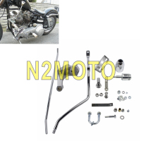 Chrome Shifter Control Kit Five Speed Kit 22 0736 for Harley Touring Electra Glide FLT FLHT 1980 2017