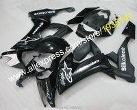 Лидер продаж, черный глянец для Kawasaki Ninja капот тела ZX10R 2008 2009 2010 ZX 10R 08 10 ZX 10R Обтекатель Kit (литья под давлением)