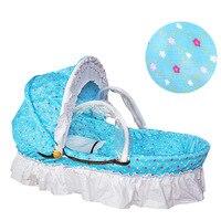 Тканые детская кроватка люлька для новорожденных спальный корзиной кроватки люльки, колыбели путешествия автокресло Колыбель Портативный