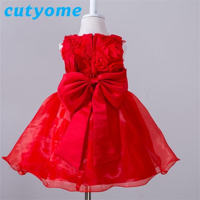 9fb7204200d5 Elegant 1st Year Birthday Dress For Baby Girl Toddler Newborn ...