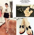 2016 Bow Thong Jelly Shoes Woman Jelly Flip Flops Women Sandals Ladies Flat Slippers Zapatos Mujer Sapatos Femininos new