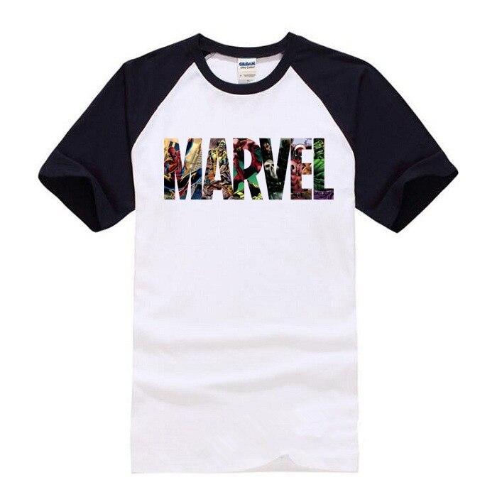 Accessoires Neue Design Marvel Mann Der T-shirt Superhero Männer/wome Druck T Shirt Oansatz Comic 2018 Marvel Shirts Tops Mode Kurzarm Tees
