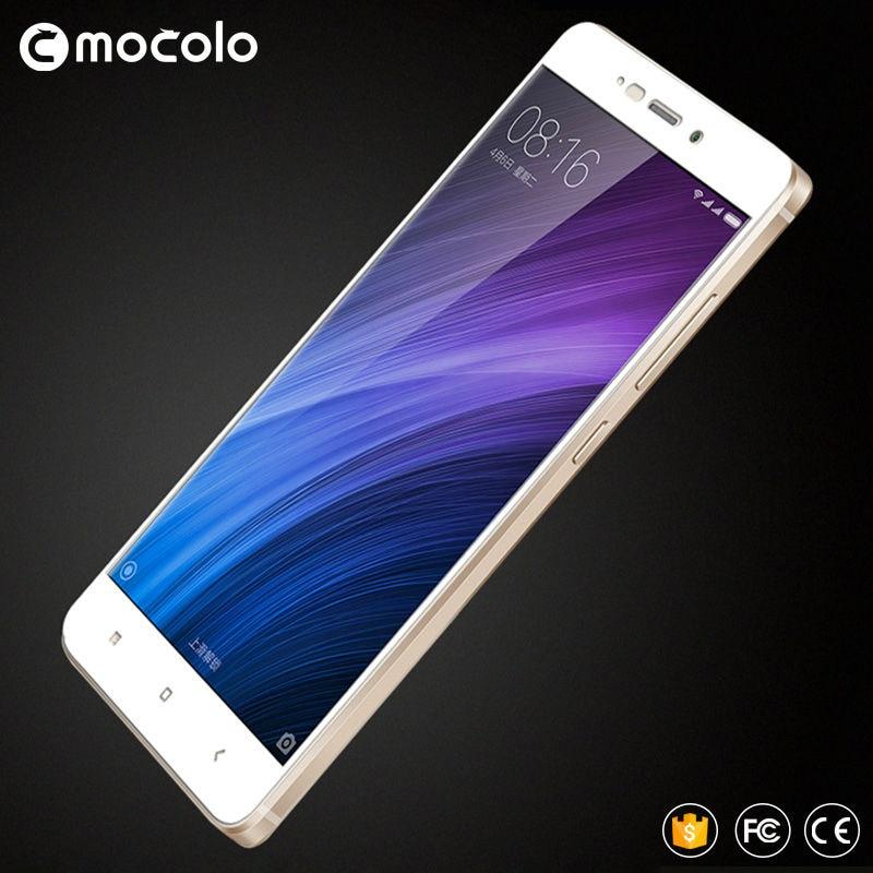 Mocolo xiaomi redmi 4 pro kaca tempered 2.5D penutup penuh kaca - Aksesori dan suku cadang ponsel - Foto 2