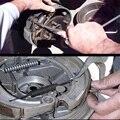 Клещи для автомобилей  монтажный инструмент для удаления барабанов  тормозных пружин  гаражные Легкосплавные Серебристые инструменты