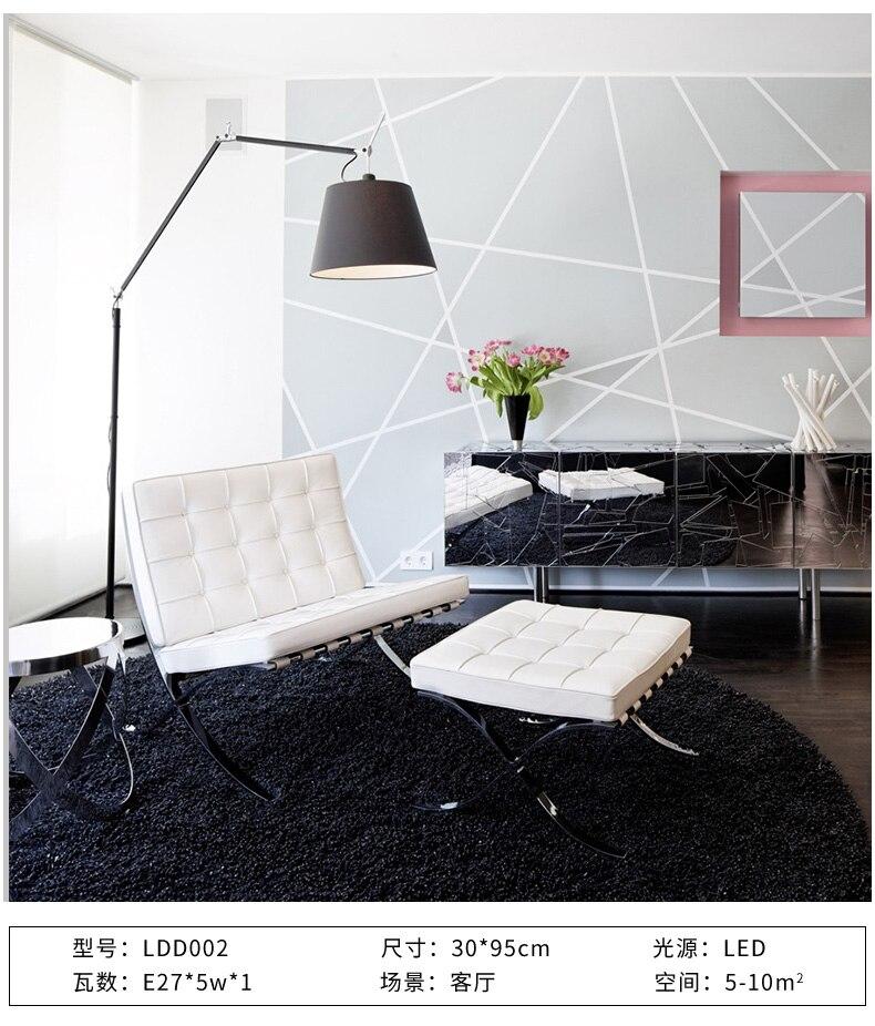 Culbuteur Double Tolomeo Bascule De Luminaire Étude Pie À Pêche Lampadaire Lampara Design Salon Artemide 4L35AjqR