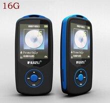 Original 16G RUIZU X06 Bluetooth Sport MP3 Music Player 1.8 Pulgadas de Pantalla 100 horas sin pérdidas de alta calidad Grabadora de FM de Radio Walkman