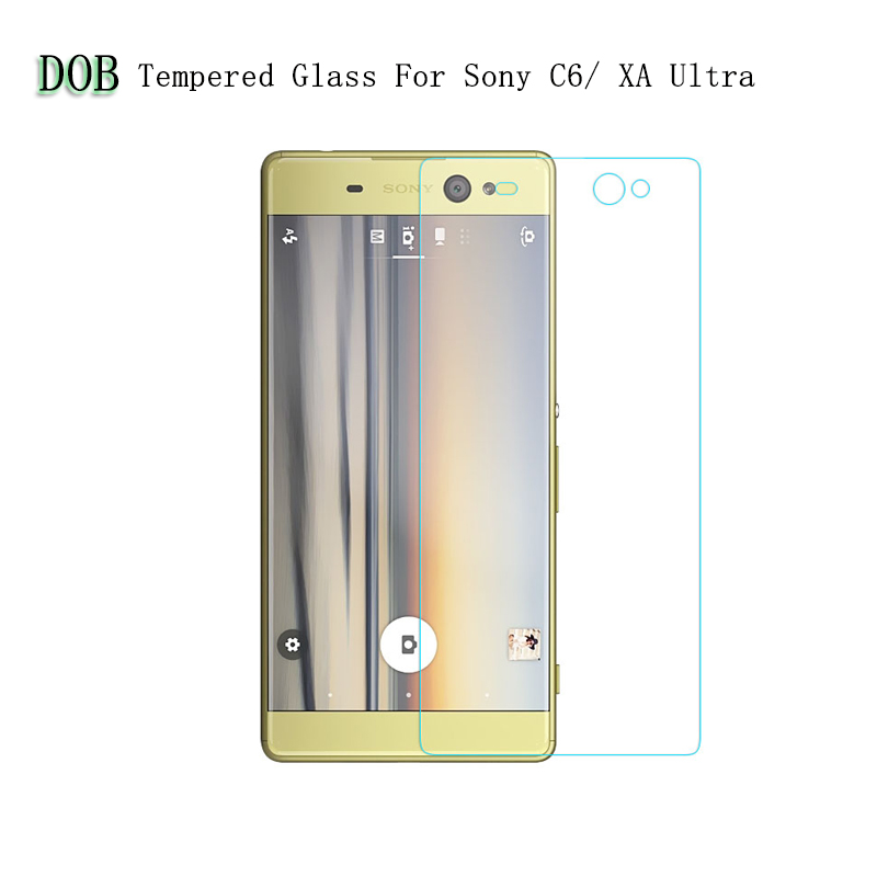For Sony Xperia C6 ultra / Xperia XA Ultra Tempered Glass Film 2.5D 9H Premium Protector Screen Cover For Sony Xperia XA Ultra