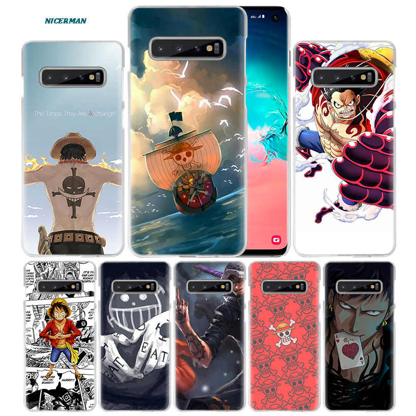 One Piece Case for Samsung Galaxy S10 5G S10e S9 S8 M30 M20 M10 J4 J6 Plus J8 2018 Note 8 9 Clear Hard PC Coque Capa Phone Cover