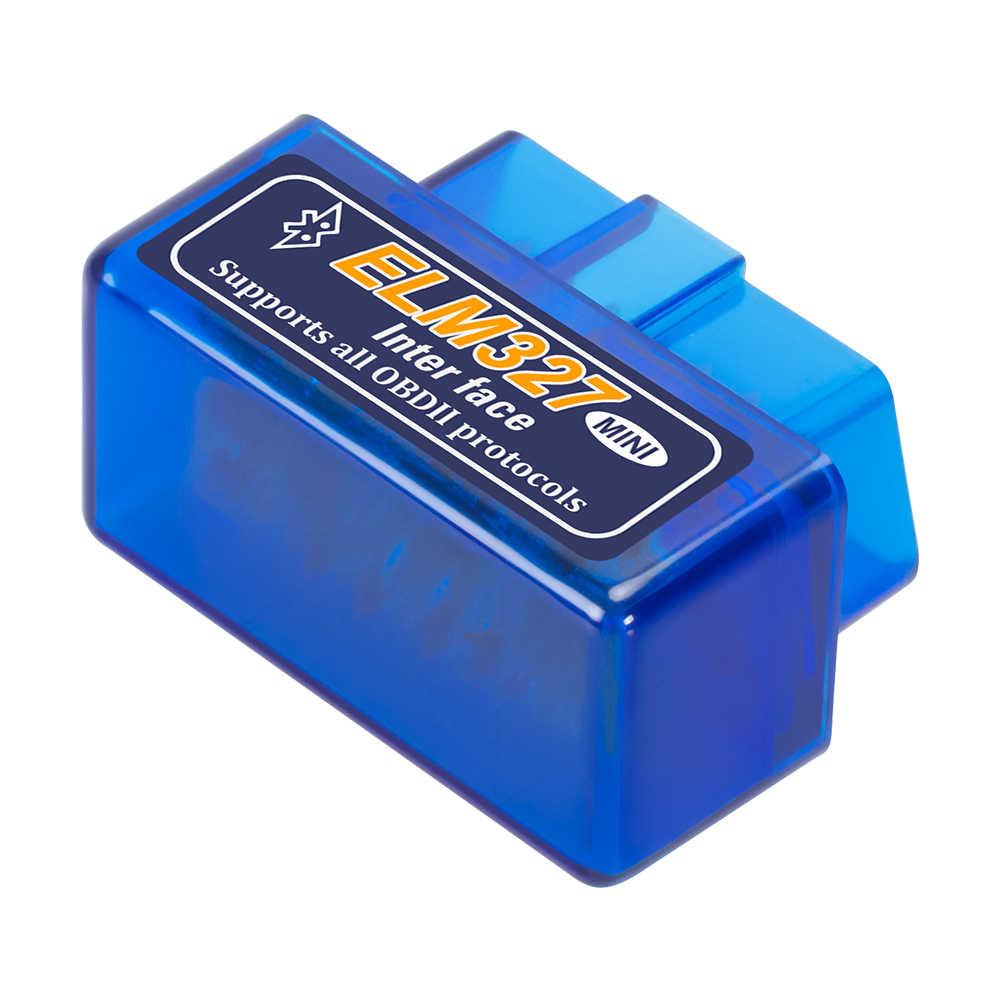 V2.1 Siêu Mini ELM327 Bluetooth Chẩn Đoán Cáp ELM 327 Mini Dầu Thắng Thử OBD2 Đọc Mã Quét Dụng Cụ