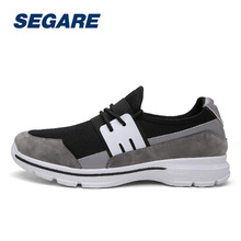 New Men Running Shoes Breathable Sport Shoes Lace Up Outdoor Shoe SE090578