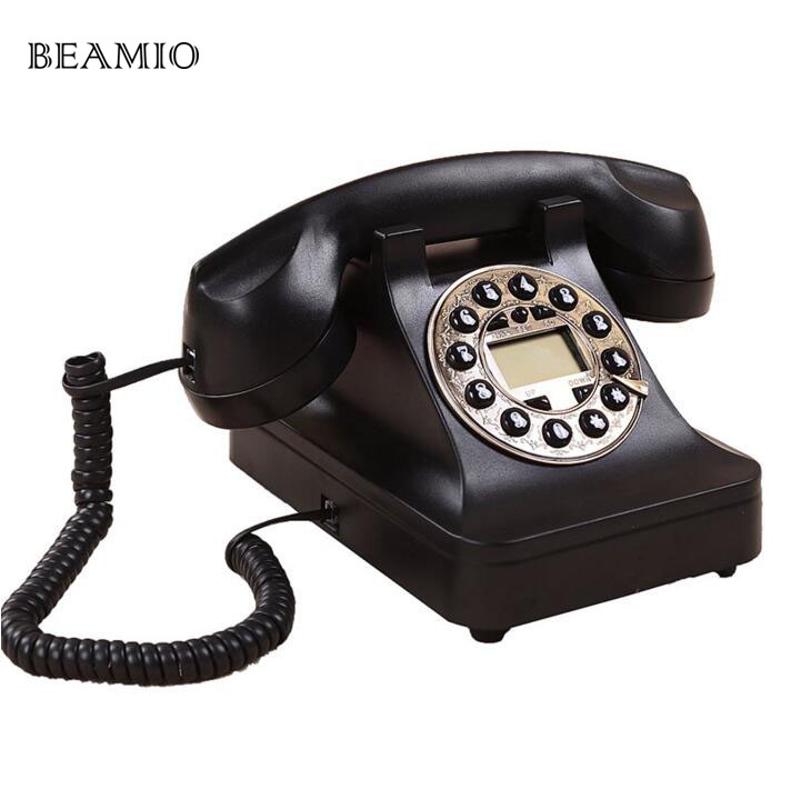 Continental Antique Vintage Telephone Dial Retro Telephone Landline Antique Creative Personality continental 14603 lt151581 continental