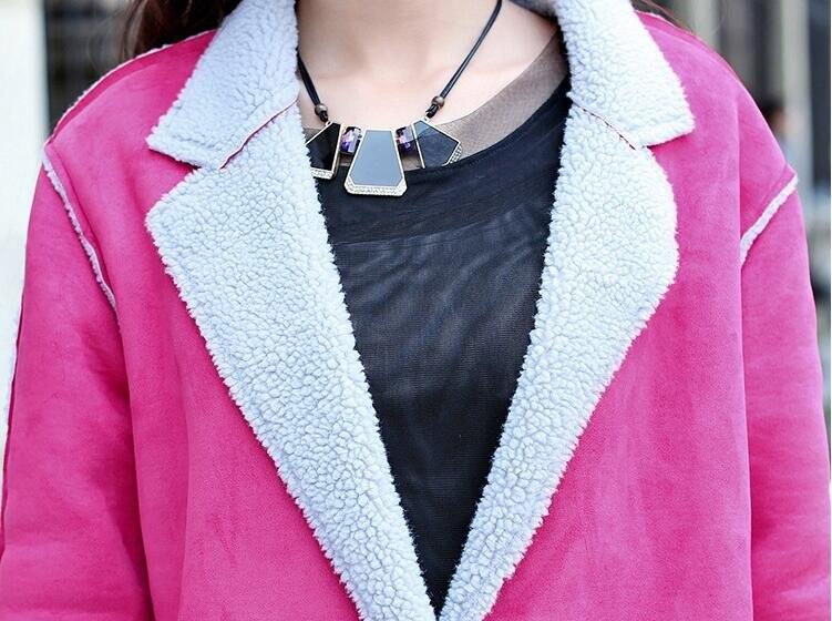 D'hiver Un Picture Deerkin Allongé 2018 picture S D'agneau Mode Nouvelle Femmes Version Coréenne Fourrure xl Veste Color De Casual Color La Manteau aSqaEUIx