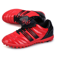 hot sale students professional football shoes boys training outdoor lawn AG cleats men kids soccer boots botas de futbol cheap