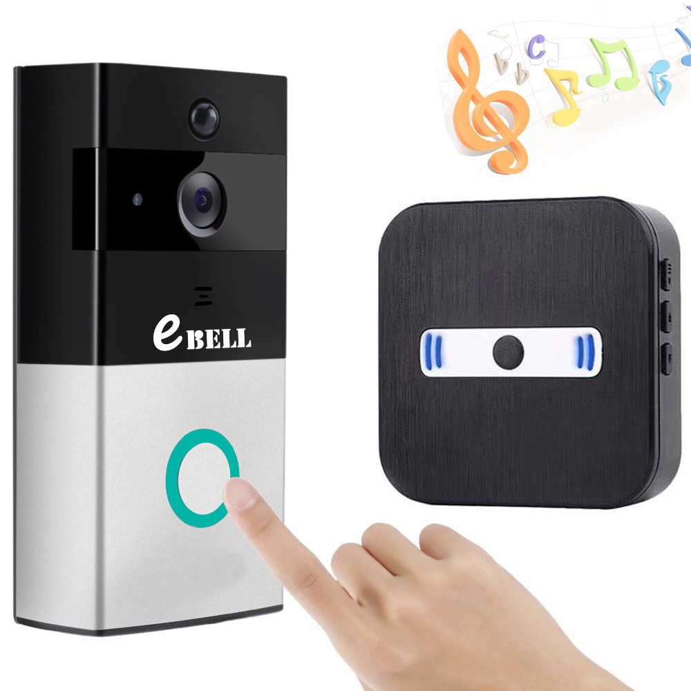 Wireless WIFI Doorbell 720P Bulid-in Battery Video Door Phone wireless wifi