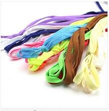 Струны плоские шнурки многоцветный спортивная пара кроссовки спортивные для