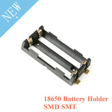 2 X 18650 Battery Holder SMD SMT High Quality Battery Box With Bronze Pins TBH-18650-2C-SMT(China)