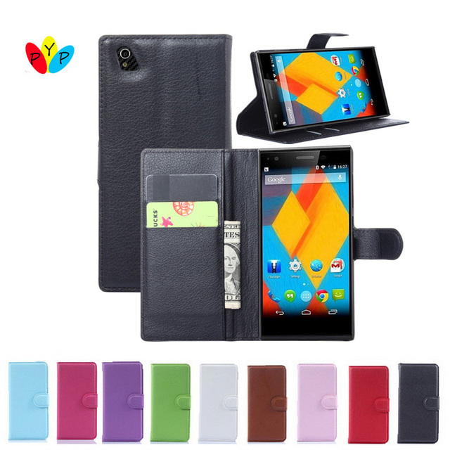 Hot Selling ZTE Blade Vec 4G Case Wallet Style PU Leather Case for ZTE Blade Vec 4G with Stand Function and Card Holder 9 Color