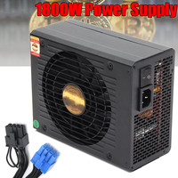 Full Module Power Supply Server Mining 1800w Atx Power Unit Miner With EMC Fit For All