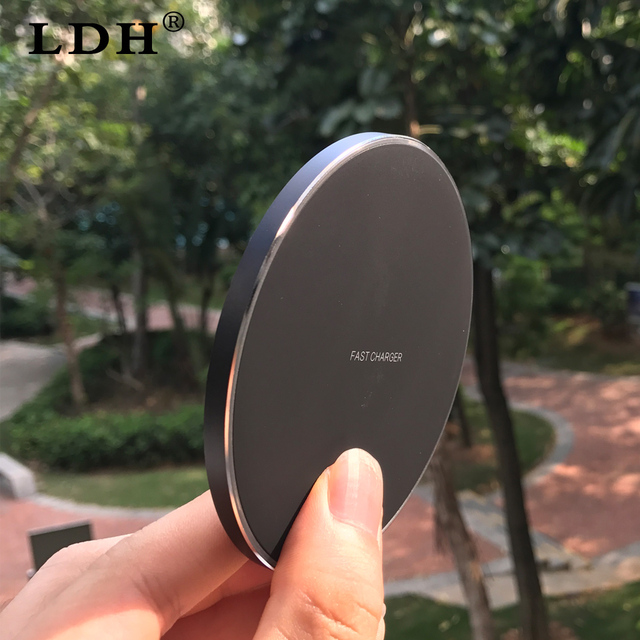 10W Qi Wireless Charger For iPhone X 8 Fast Wireless Charging for Samsung Note 8 S8/S8+/S7 Edge Plus USB Charger Pad