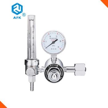 High pressure Nickel-Plated Brass CO2 Argon Nitrogen Gas Flowmeter Pressure Regulator