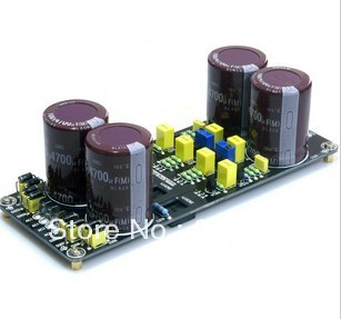 Assembled Parallel Stabilized voltage power supply board  +/ -30V-_+/-60V adjustable