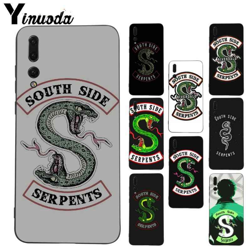 Funda para teléfono Yinuoda riverdale South Side serpiente para Huawei honor 8x 7a P20Lite P10 Plus Mate10Lite Mate20 P20 Pro funda