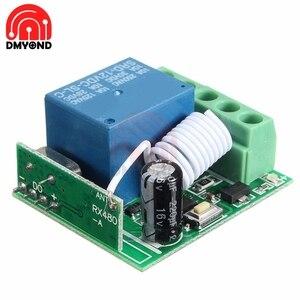 433 mhz 315 mhz módulo interruptor do relé sem fio dc 12 v 1 canal 1ch rf interruptor remoto controlador wi-fi heterodyne módulo receptor