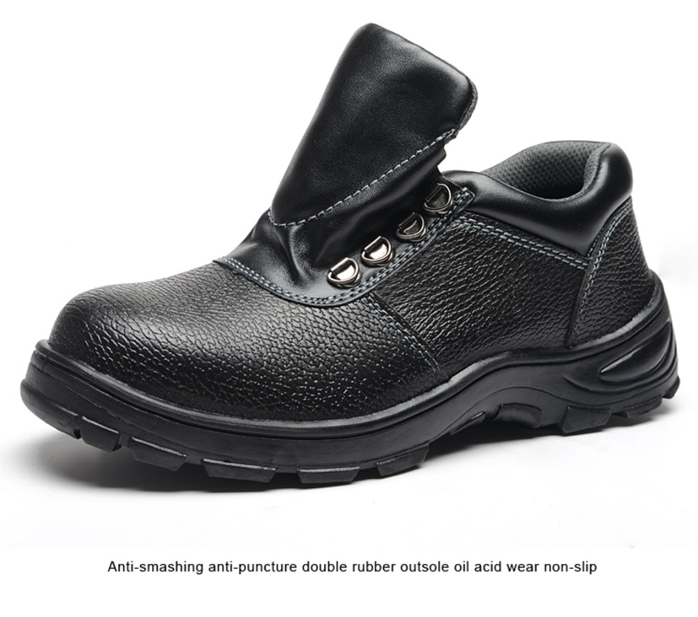 Men Safety Working Boots Breathable Mesh Steel Toe Steel Midsole Puncture Proof Shoes Slip Oil Chemical Resistant Safety Shoes unisex safety shoes with steel toe cap working shoes men casual breathable mesh work safety boots puncture proof security boots