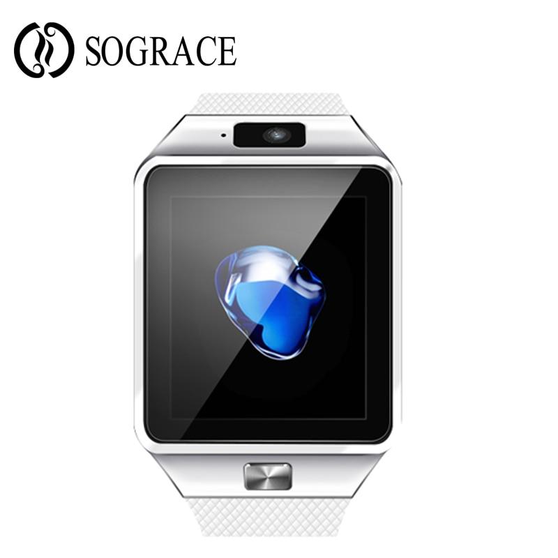 0c1993e82eb DZ09 Smartwatch Bluetooth Relógio Inteligente Relógio Do Esporte para o  Telefone Android Com Câmera FM Whatsapp Apoio Cartão SIM relógio de pulso  Das ...