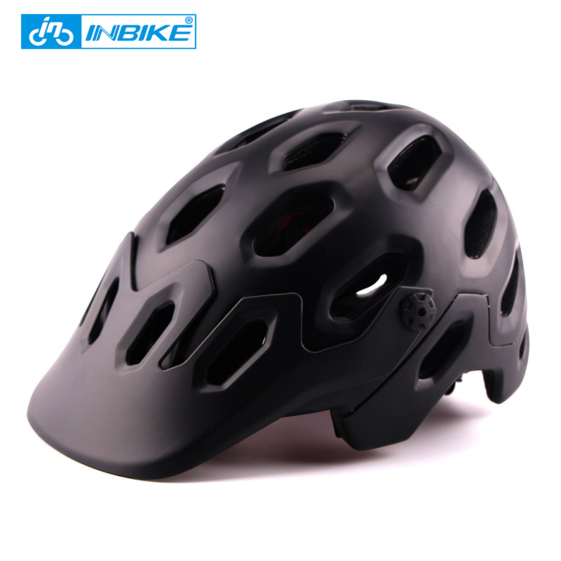 INBIKE 25 Air Vents Mountain Bike Helmet Integrally-molded Cycling Helmet MTB Road Bike Safe Cap Men Women Bicycle Helmet CB-29 inbike 2017 cycling glasses gafas ciclism nxt lens uv400 proof bike eyewear goggles mtb road bicycle photochromic sunglasses