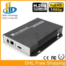 Free shipping MPEG-4 H.264 HD HDMI Video Encoder for IPTV, Live Stream Broadcast, HDMI Video Recording server