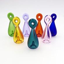 цена на 7X Diffuser Perfume Refillable Coloured handmade Essential Oil Aromatherapy Bottle Pendant Necklace drop pendant necklace