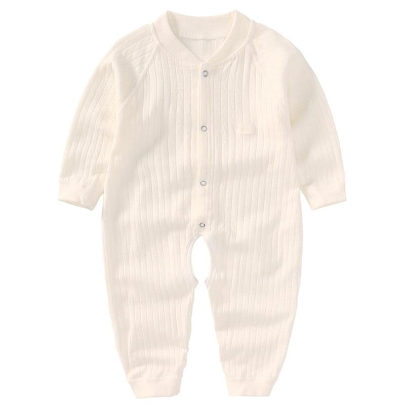 Baby Romper z długim rękawem Summer Baby Girl Romper Cotton Baby - Odzież dla niemowląt - Zdjęcie 5
