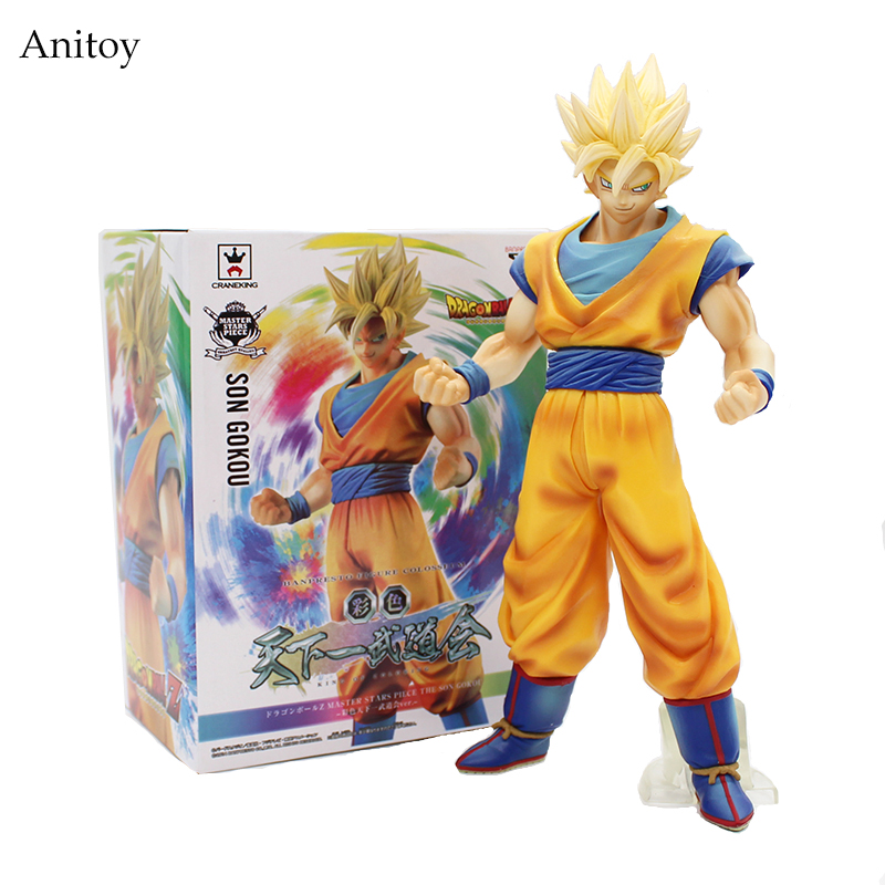 Dragon Ball Z Super Big Size Super Son Goku PVC Action Figure Collectible Model Toy 28cm KT3936 dragon ball z black vegeta trunks pvc action figure collectible model toy super big size 44cm 40cm