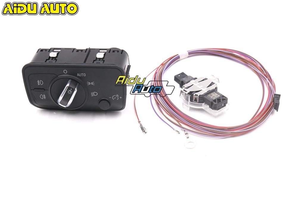 For Audi A3 8V Rain sensor Automatic wiper Auto Head light Sensor with Headlight Switch